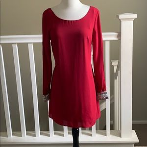 As U Wish from Nordstrom Red dress size 3